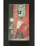 Cal Pozo's Learn to Dance in Minutes - V. 3 - The Latin Dances (VHS, 1988) - $8.90