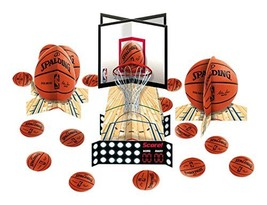 """Spalding Basketball Collection"" Party Table Decorating Kit - $13.88"