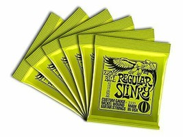 Ernie Ball Regular Slinky Custom Gauge Nickel Wound Guitar String - Set.... - $40.93