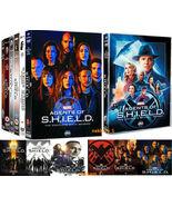 Marvel Agents of SHIELD S.H.I.E.L.D. Seasons 1-7 32-Discs DVD Brand New ... - $68.50