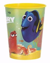 Finding Dory Yellow Plastic 16 oz Keepsake Stadium Cup Birthday Party Supplies - $2.92