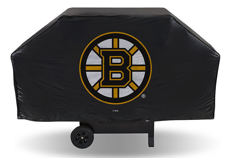NHL 68 Inch Vinyl Economy Gas or Charcoal Grill Cover -Select- Team Below