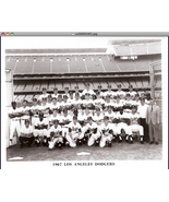 1967 Los Angeles Dodgers Team Photo    - $9.95