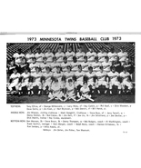 1973 Minnesota Twins Team Photo    - $9.95