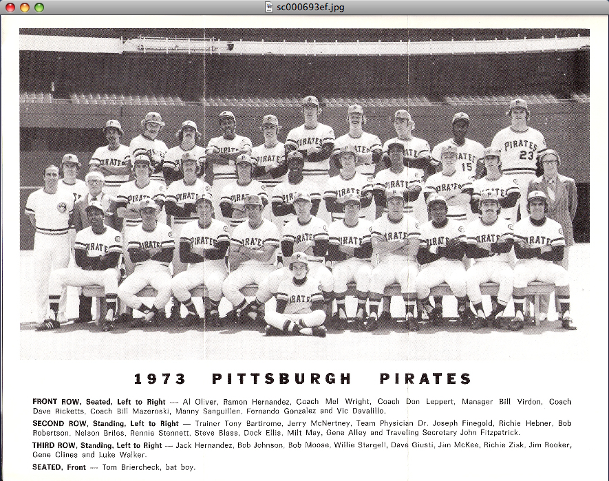 1973pittsburghpirates