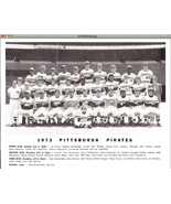 1973 Pittsburgh Pirates Team Photo    - $9.95