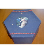Handcrafted  Angel Gift or Storage Box paper - $9.99