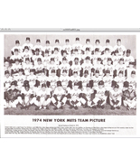 1974 New York Mets Team Photo    - $9.95