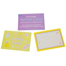 Baby Shower Mommy To Be Advice Cards Shower Activities Games Supplies 24... - ₨409.76 INR+