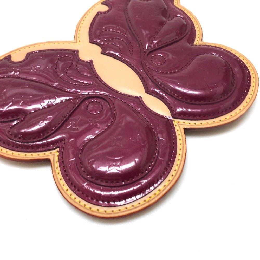 AUTHENTIC LOUIS VUITTON Vernis Conte de Fees Butterfly Pochette Bag M92270