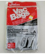 Vac Bags x2 Disposable Vacuum Cleaner Bags No 17 Singer Bissell Upright Vtg - $8.60