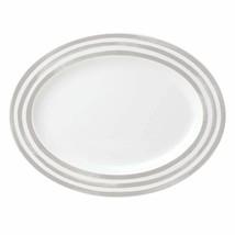Kate Spade New York 867933 Charlotte Street Grey Oval Platter - $79.99