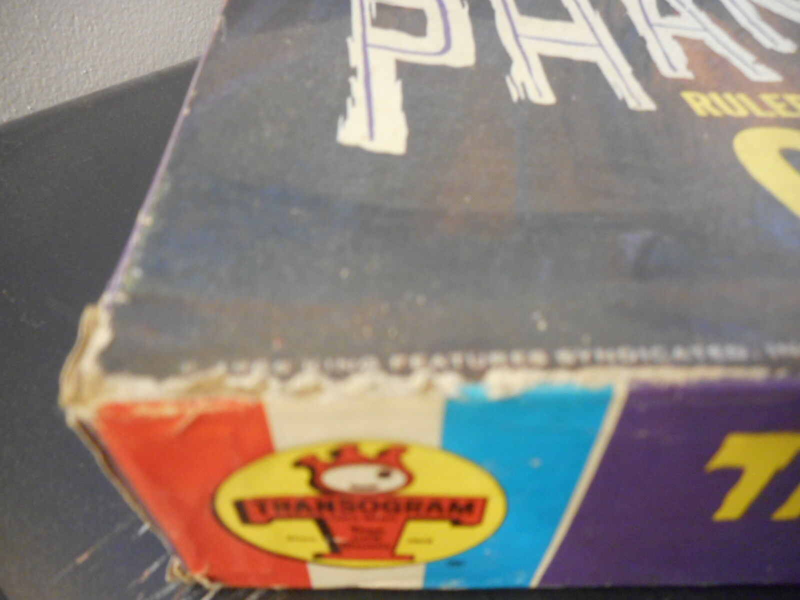 Vintage 1966 The Phantom Ruler of the Jungle Board Game by Transogram