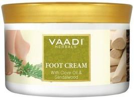 Vaadi Herbals Foot Cream, Clove Oil and Sandalwood, 500g*u.k - $27.65