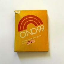 Vintage O'NO UNO 99 Card Game Family Night 1980 Sealed Unopened Internat... - $18.95