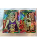 1993-94 Topps Finest Refractor #154 Willie Anderson #20 Tom Chambers Ref... - $9.97