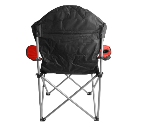 Folding Camping Chair Padded Seat Back Festivals Deck Beach Outdoor Furniture