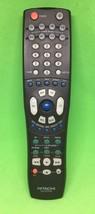 Genuine Hitachi CLU-577TSI TV Remote Control DVD VCR Cable black Clean T... - $9.50