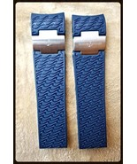 22 mm Silicone Rubber Watch Strap-Band fit for marine diver ULYSSE NARDI... - $76.97