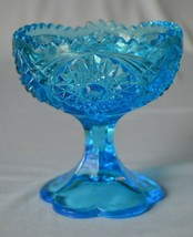 Kemple Glass Martex Blue Footed Jelly - $9.90