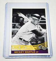 Mlb Mickey Mantle New York Yankees 2018 And Panini Baseball #254 Mint - $1.45
