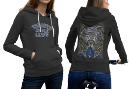 Toronto Maple Leafs  New Black Hoodie 2D For Women - $53.99
