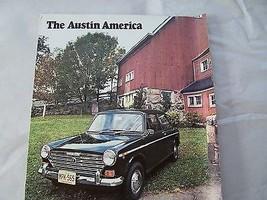 1969 Austin Owners Sales Brochure Parts Service - $19.99