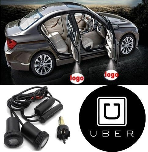 2x Custom Made Uber Led Car Door Laser And 50 Similar Items