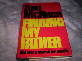 Rod McKuen- Finding My Father - $50.00
