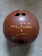 Vtg Brown Brunswick Edge II Bowling Ball KSV3004 15.5lbs - $55.43