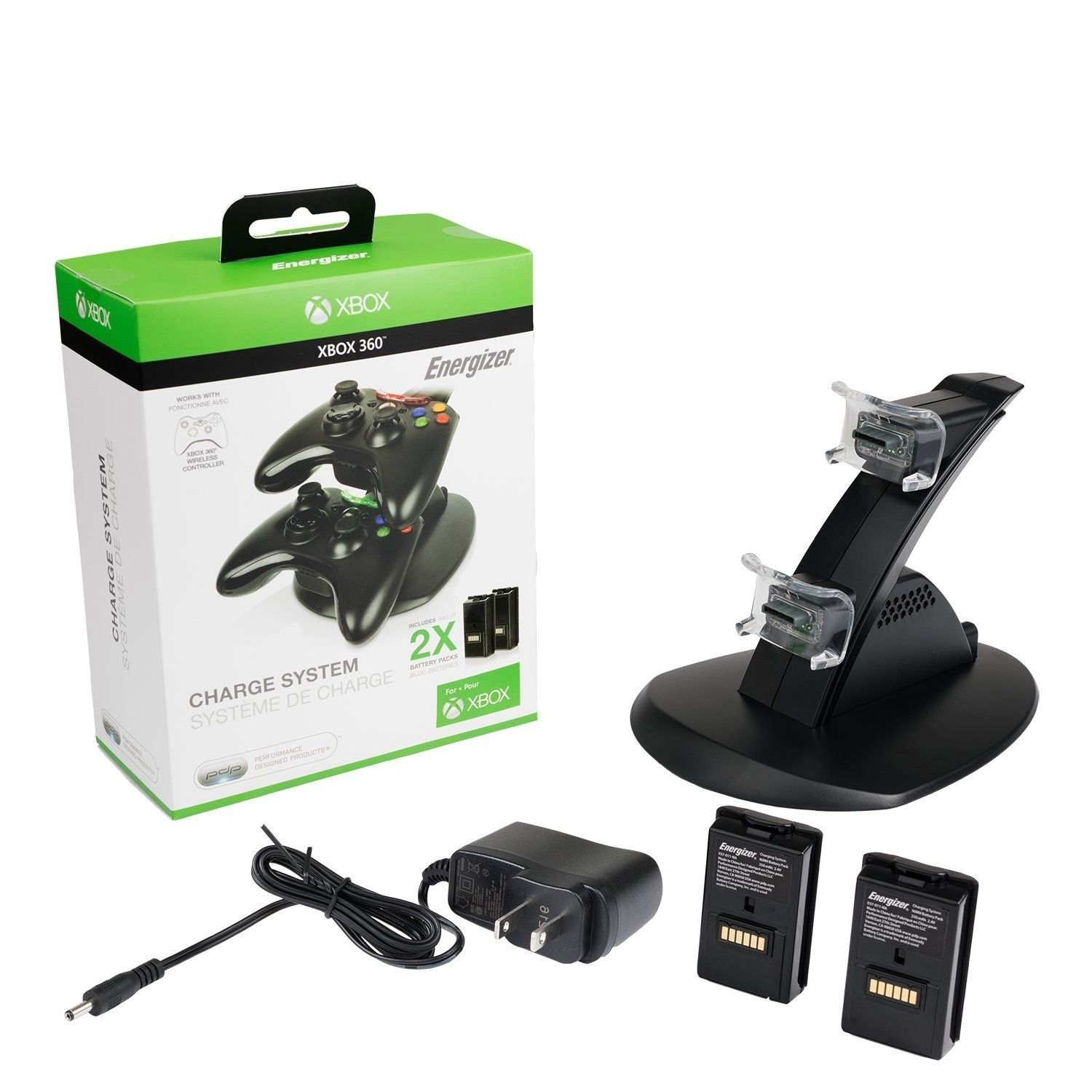 PDP Energizer Xbox 360 Controller Charger 2 and 49 similar items