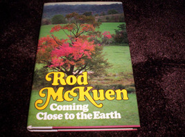 Rod McKuen - Coming Close To The Earth - $100.00