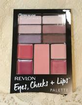 Revlon Eyes Cheeks & Lips Palette #300 Berry In Love NEW - $2.76