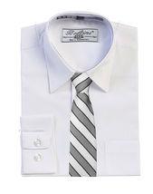 Boys Formal Three Piece Kids Suit Set - 5PC - Jacket, Shirt, Tie, Vest, Pants image 11