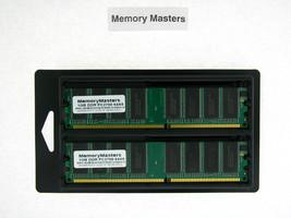 31P8857 31P9123 2GB  2x1GB Memory PC2700 IBM ThinkCentre A50