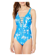 Athena Women's Waimea Bay Plunge One Piece Swimsuit  Size 10 NWT  - $39.60