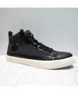Polo Ralph Lauren Clarke Hi-Top Sneakers ,Heather Rip Stop,  Black, - $29.00
