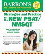 Barron's Strategies and Practice for the NEW PSAT/NMSQT Barron's Strateg... - $23.11