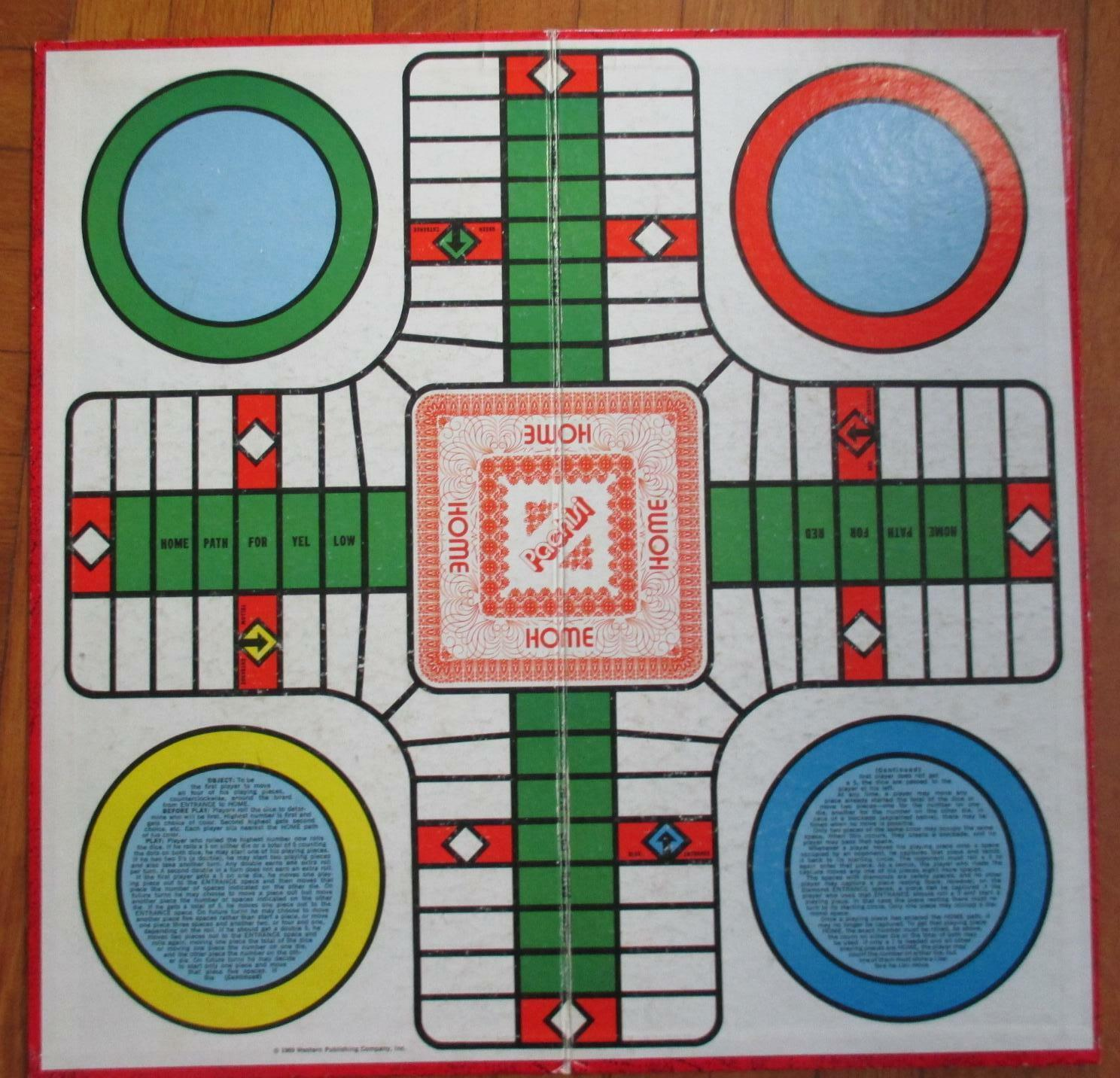 One Vintage Whitman Pachisi Game, incomplete + Two Selchow & Righter Boards image 2