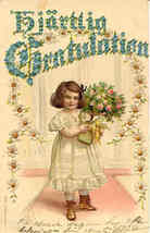 The Little Princess 1905 post card  - $5.00