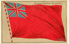 Grossbritannien Angleterre flag Post Card - $8.00