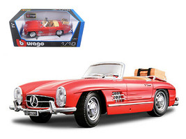 1957 Mercedes 300SL Touring Convertible Red 1/18 Diecast Model Car by Bburago - $61.11
