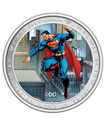 Canada 2013 50 Cents Lenticular Coin and Stamp Set - Superman Then and Now - $45.75