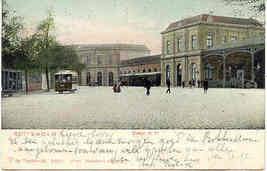 Rotterdam Station D P  vintage 1904  Post Card - $6.00