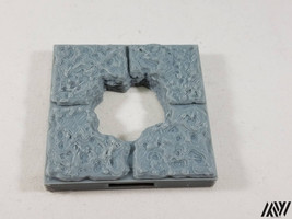 DragonLock Ultimate 2x2 Floor with Hole Opening Tile - $2.49