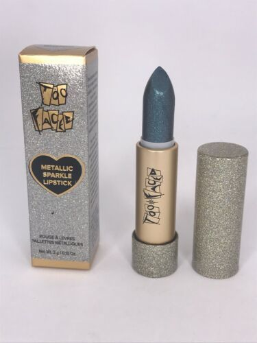 Primary image for Too Faced Metallic Sparkle Lipstick in Bionic .10 oz Full Size New in Box