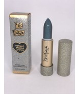 Too Faced Metallic Sparkle Lipstick in Bionic .10 oz Full Size New in Box  - $17.77