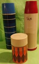Various Vintage Thermos Lot Aladdin - $31.79