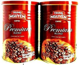 Trung Nguyen Premium Blend Ground Coffee 15 oz ( Pack of 2 ) - $28.70
