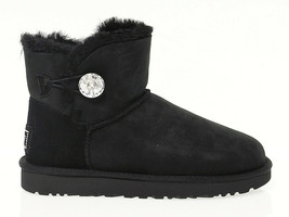 Ankle boot UGG AUSTRALIA 3889 in black suede leather - Women's Shoes - $235.07
